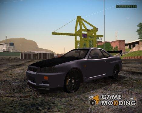 Nissan Skyline GT-R ESR для GTA San Andreas