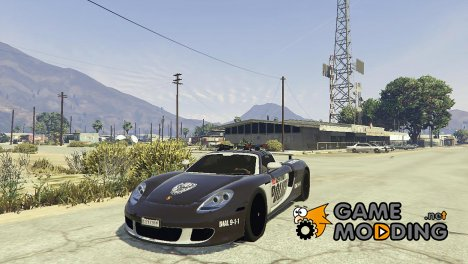 Porsche Carrera GT Cop for GTA 5