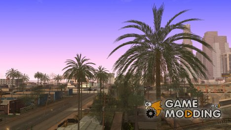 Beautiful Vegatation And Behind Space Of Realities для GTA San Andreas