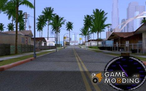 Новый качественый спидометр для GTA San Andreas