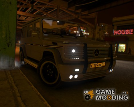 Mercedes-Benz G55 AMG v2 for GTA 4
