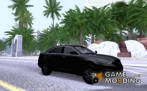 Ford Taurus Interceptor Unmarked 2013 для GTA San Andreas