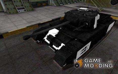 Зоны пробития Centurion Mk. I для World of Tanks