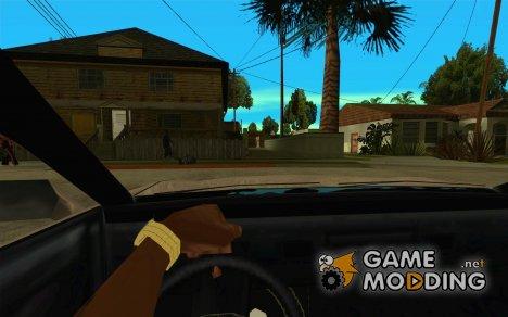 CLEO скрипт: вид из кабины без NumPad для GTA San Andreas