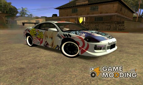 Mitsubishi Eclipse 2003 Fate Zero Itasha for GTA San Andreas