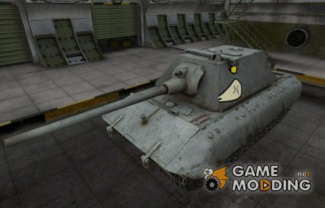 Мультяшный скин для E-100 для World of Tanks