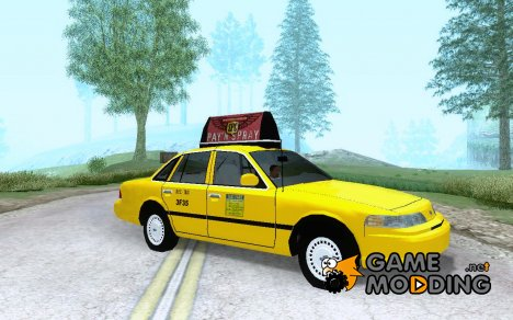 1992 Ford Crown Victoria NYC Taxi для GTA San Andreas