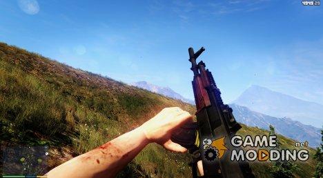 Battlefield 4 AK-12 for GTA 5