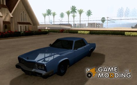 GTAIV Buccaneer for GTA San Andreas