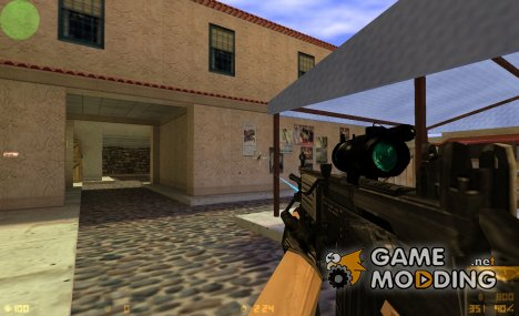 TACTICAL GALIL ON VALVE'S ANIMATION (UPDATE) for Counter-Strike 1.6