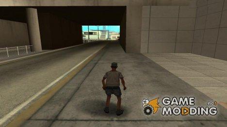 WallHack для GTA San Andreas