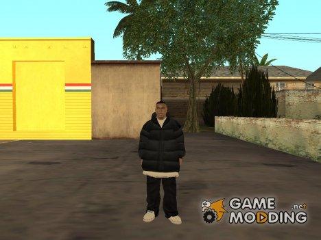 Скин из GTA 4 for GTA San Andreas