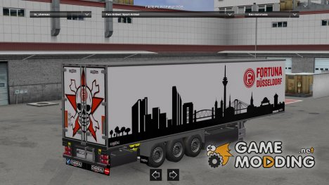 Fortuna Düsseldorf Trailer для Euro Truck Simulator 2
