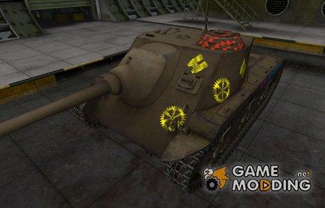 Качественные зоны пробития для T25 AT для World of Tanks