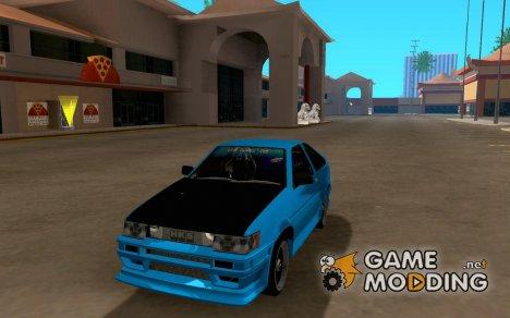 Toyota Corrola AE86Levin для GTA San Andreas
