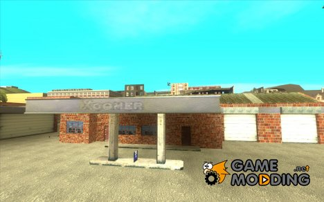 Новые текстуры для гаража и стройки в Сан-Фиерро для GTA San Andreas