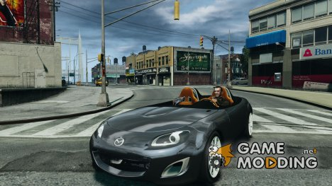 Mazda Miata MX5 Superlight 2009 для GTA 4