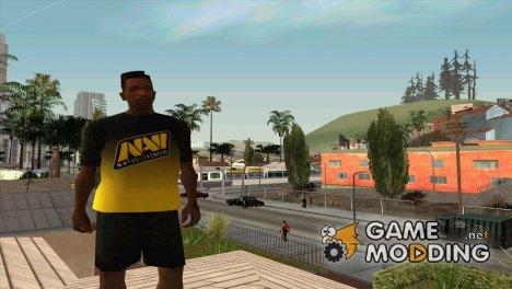 Футболка NAVI для GTA San Andreas