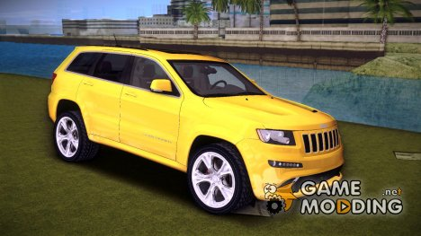 Jeep Grand Cherokee SRT-8 (WK2) для GTA Vice City