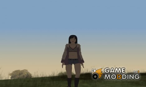 Хината из Наруто HD (Road to ninja) for GTA San Andreas