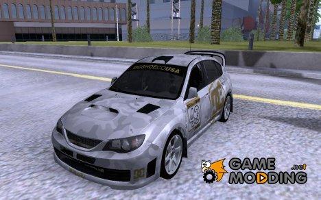 Subaru Impreza WRX STi с новыми винилами for GTA San Andreas