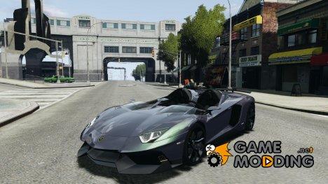 Lamborghini Aventador J 2012 v1.2 для GTA 4