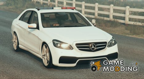 Mercedes-Benz E63 Police Version 0.1 for GTA 5