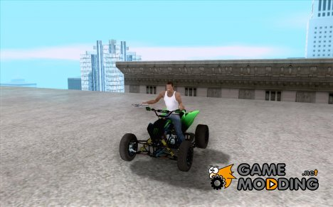 Kawasaki Monster Energy Quad for GTA San Andreas