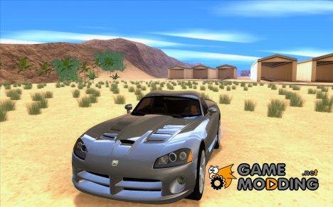 Dodge Viper Coupe 2008 for GTA San Andreas