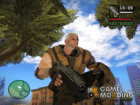 Cable Gun From DeadPool: The Game для GTA San Andreas