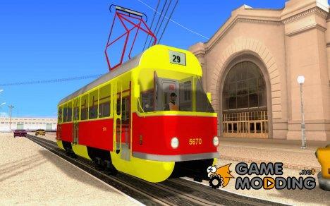 Татра Т3SU для GTA San Andreas