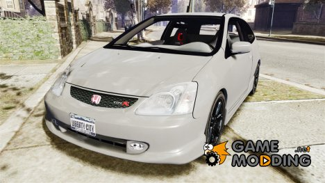 Honda Civic type R 2002 для GTA 4