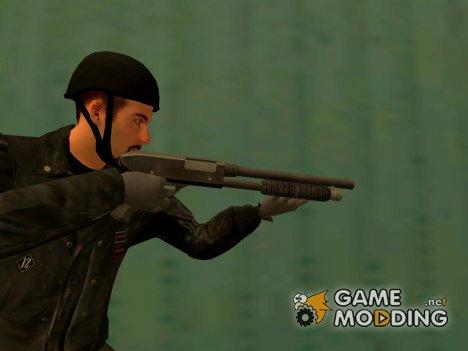 Chromegun Grand Theft Auto 4 for GTA San Andreas