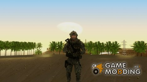 Modern Warfare 2 Soldier 6 для GTA San Andreas