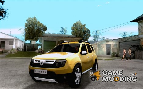 Dacia Duster 2010 SUV 4x4 for GTA San Andreas