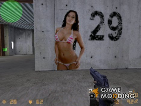 Sexy Chick in Bikini for Counter-Strike 1.6
