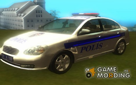 Hyundai Accent Era Police Car для GTA San Andreas