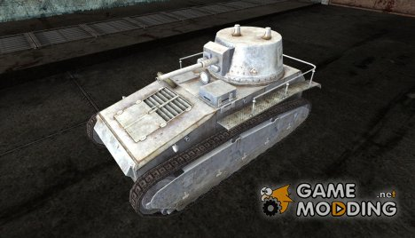"Leichtetraktor ""Chrome Tanks"" for World of Tanks"