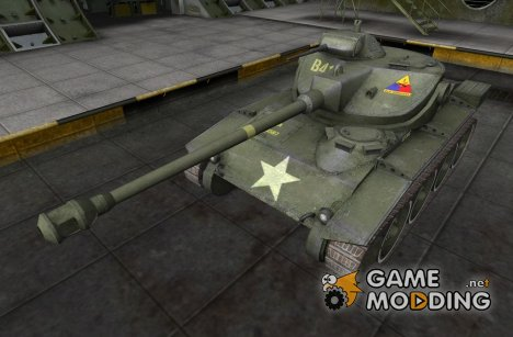 Шкурка для T71 для World of Tanks