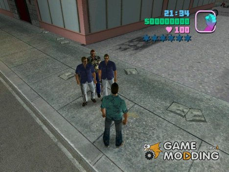 Охранники для Томми для GTA Vice City