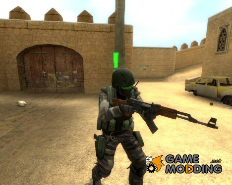 Opposing force inspired Urban для Counter-Strike Source