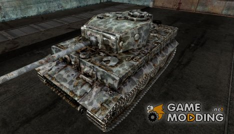 Шкурка для PzKpfw VI Tiger Speckled for World of Tanks