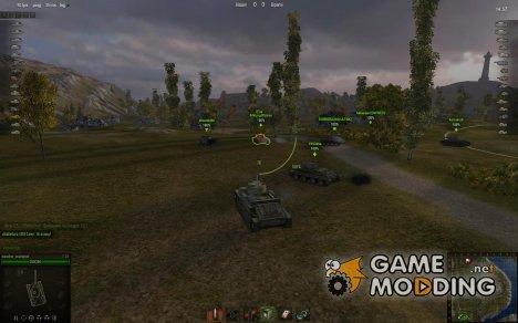 Аркадный, Снайперский и Арт прицелы с таймерами for World of Tanks