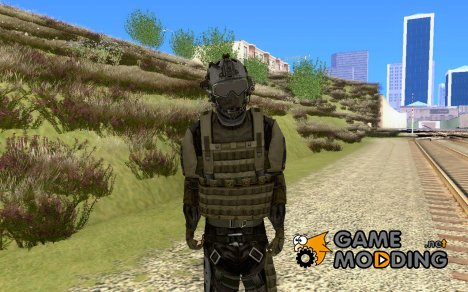 Солдат из COD Modern Warfare 2 for GTA San Andreas