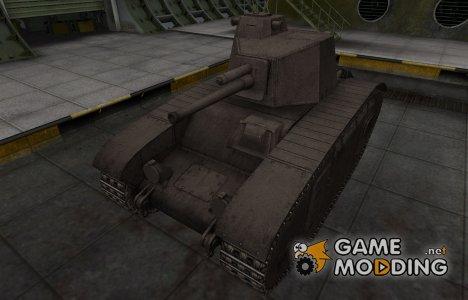 Перекрашенный французкий скин для BDR G1B for World of Tanks