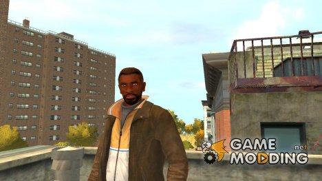 Нико афроамериканец для GTA 4