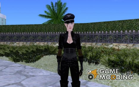 Army girl from war times+normal map для GTA San Andreas