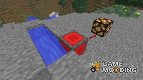 Датчик обновления блоков (ДОБ) для Minecraft