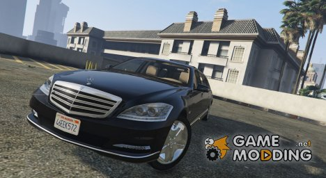 2011 Mercedes-Benz S600 Guard Pullman для GTA 5