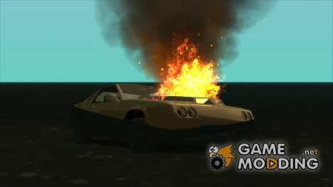 Fix Car Fire on the Water v1.0.2 для GTA San Andreas